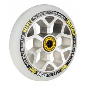 Roue Hardline x6 110 mm snowballs Chrome / Blanc - Eaggle Supply