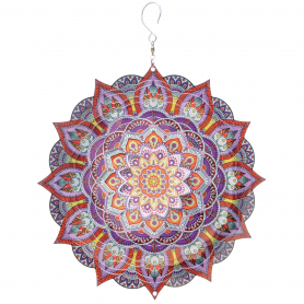 Suspension Acier Inoxydable Mandala 250 Kashmir - Colours In Motion