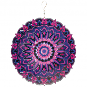 Suspension Acier Inoxydable Mandala 250 Tamil - Colours In Motion