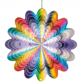 Suspension Acier Inoxydable 150 Rainbow Cercle - Colours In Motion
