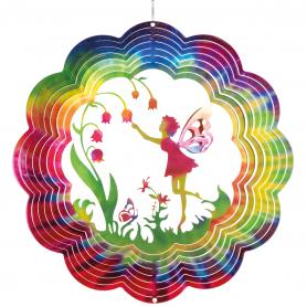 Suspension Acier Inoxydable 300 Fée Fleur - Colours in Motion