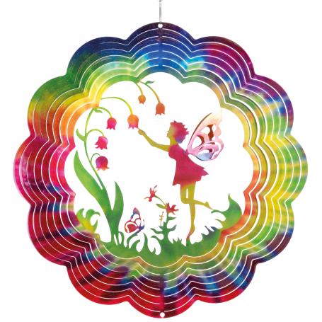 Suspension Acier Inoxydable 300 Fée Papillon - Colours in Motion