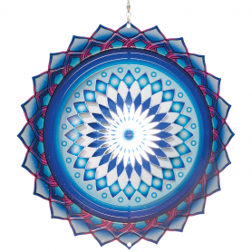 Suspension Acier Inoxydable Mandala 250 Assam - Colours In Motion