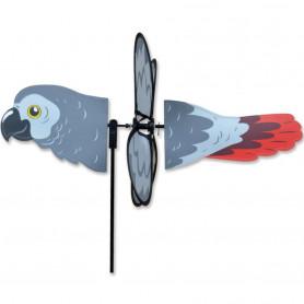 Eolienne Perroquet Gris Africain 30cm - Premier Kites