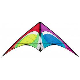 QUANTUM 2.0 Rainbow Cerf-volant acrobatique polyvalent