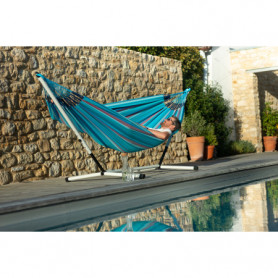 Hamac Double Outdoor Brisa Wave ( bleu)