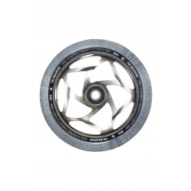 Roue Tri Bearing 120mm Chrome/Clear - Blunt