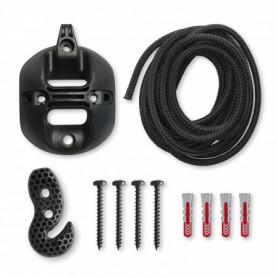 Multipurpose Suspension Set for Hammock Chairs - CasaMount Black