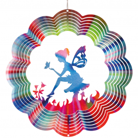 Suspension Acier Inoxydable 300 Papillon - Colours In Motion