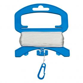 Polyester 10kg/40m sur poignée avec clip