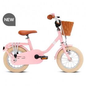 Steel Classic 12 inch children's bike retro pink