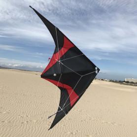 Buddy pilot kite red / black