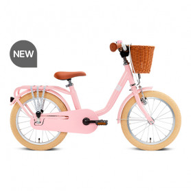 Children's bicycle Steel classic 16 inches retro pink