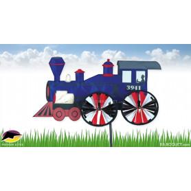 Eolienne de jardin Locomotive à vapeur