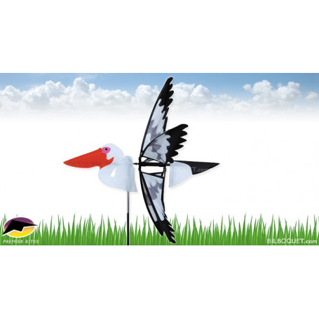 Eolienne d'extérieur Oiseau Pélican
