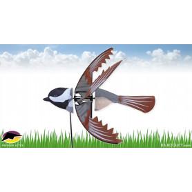 Eolienne de jardin Oiseau Mésange