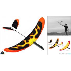 Planeur Airglider 40 - Flammes