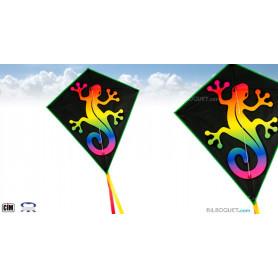 Eddy Rainbow Gecko - Cerf-volant pour les enfants