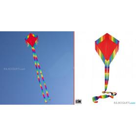 Maya Eddy Red Cerf-volant monofil