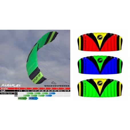 Paraflex Sport Voile 2 lignes avec barre de contrôle