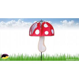 Champignon magique Rouge Polka-Dot Déco d'extérieur
