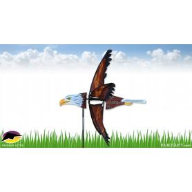 Eolienne de jardin Oiseau Aigle