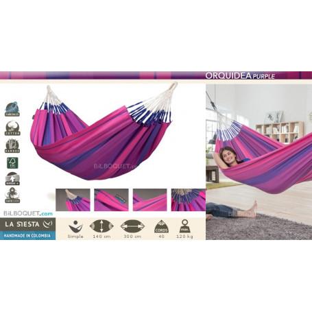 Hamac simple Orquidea Purple