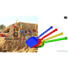 Grande pelle avec manche jouet sable