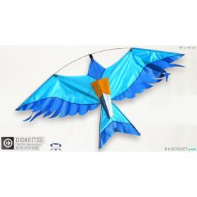 Oiseau bleu Cerf-volant effaroucheur
