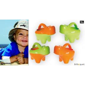 Arrosoir Bébé Hippo - Jouet pour la plage ou pour le bain