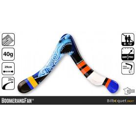Shark - Boomerang en bois pour droitier