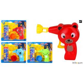 Pistolet animaux Bubble Gun Jouet à bulles de savon