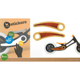 Stickers pour Wishbone Bike Recycled Edition - Woodie