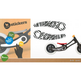 Stickers pour Wishbone Bike Recycled Edition - Zebra