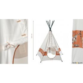 Grand Tipi Tente d'indien Grandes plaines - Pour jouer aux indiens