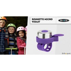 Sonnette Micro pour trottinette - Violet