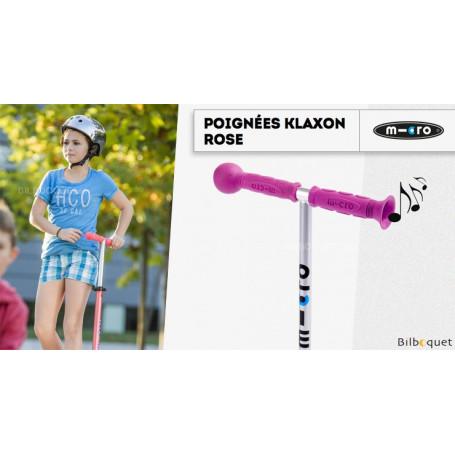 Poignées Klaxon - Rose