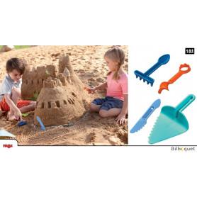 Ustensiles de modelage - jeux de sable