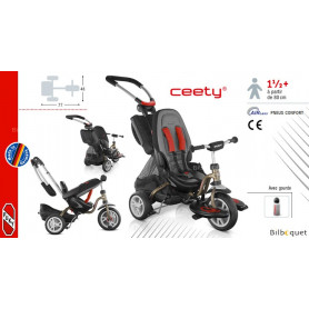 Tricycle Puky CAT S6 Ceety® - Bronze - Dès 18 mois
