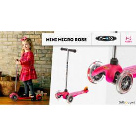 Mini Micro Rose - Trottinette 3-5 ans