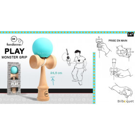 Kendama Play Monster Grip K - Turquoise