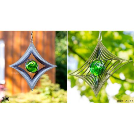 Karo M - Suspension décorative en inox