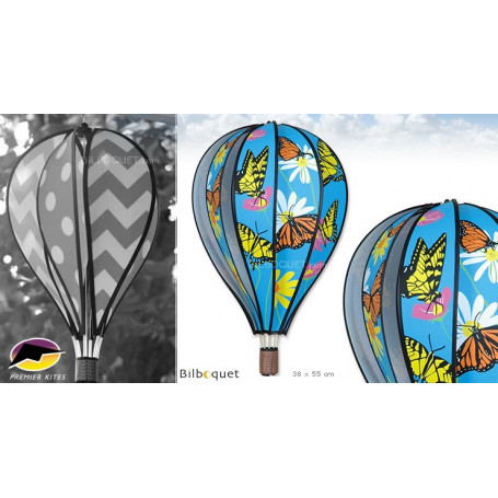 Ballon à suspendre Papillons 55cm