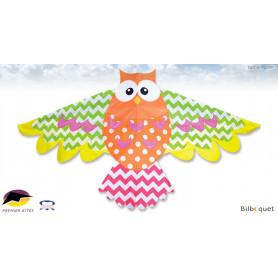 Chouette multicolore - Cerf-volant monofil enfant