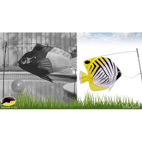 Swimming Fish Poisson-Papillon Jaune Déco d'extérieur