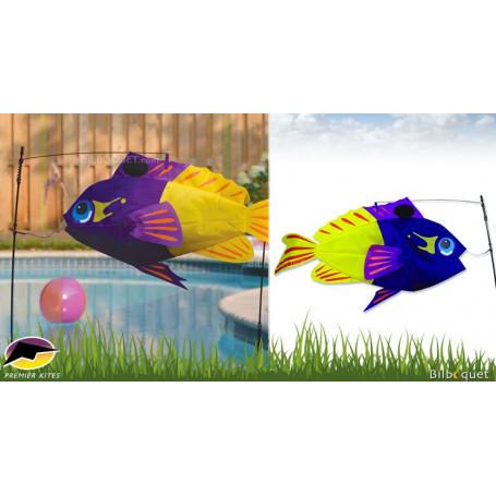 Swimming Fish Poisson Perciformes Déco de jardin