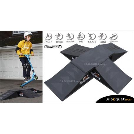 Rampage Rampe de Skateboard Mini Double Kicker