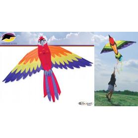 Bird Kite Perroquet cerf-volant monofil 163x91cm