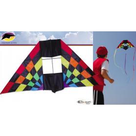 Delta box Rainbow Ray cerf-volant 229x94cm