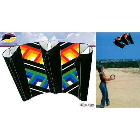 Power Sled Large Cubic cerf-volant 242x113cm